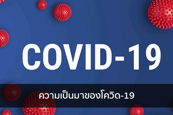 ความเป็นมาของโควิด-19